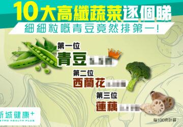 新城健康+ 高纖蔬菜
