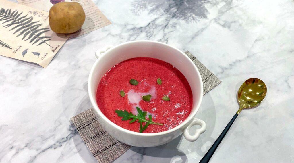南瓜籽 紅菜頭 濃湯