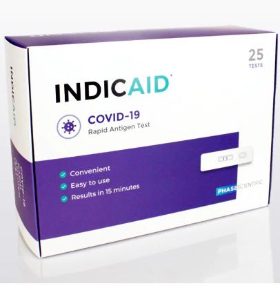 新冠肺炎 快速檢測器 INDICAID