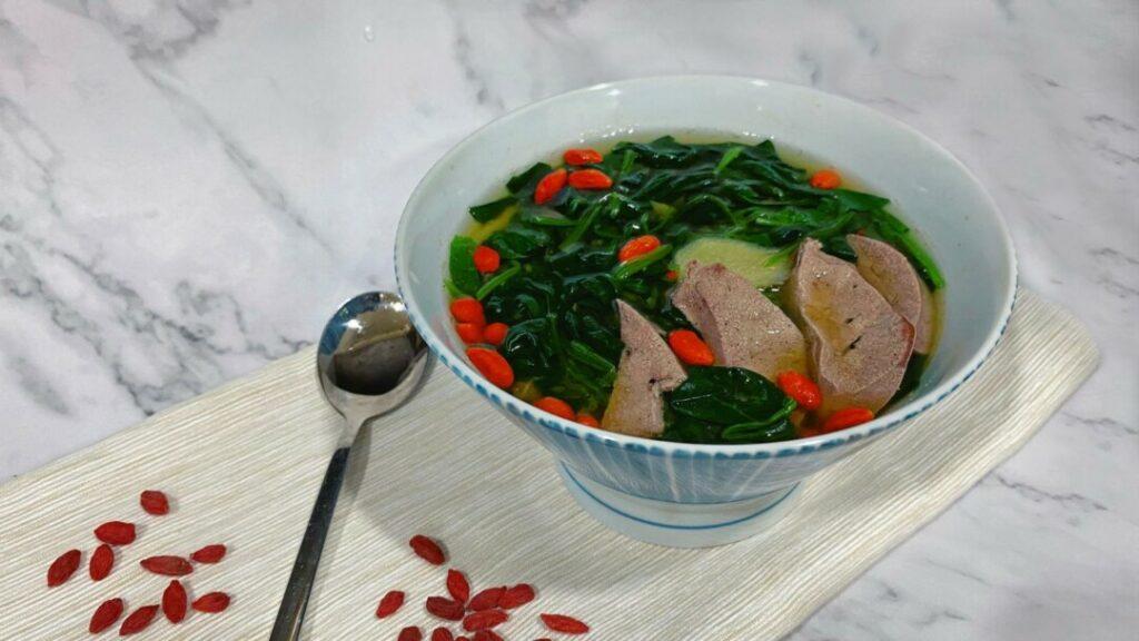 菠菜 鐵質